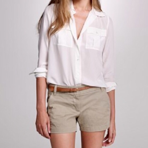 J. Crew Pants - J Crew khaki shorts - like new!